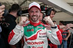 Pole position pour Tiago Monteiro, Honda Racing Team JAS, Honda Civic WTCC