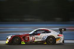 #87 AKKA ASP Mercedes AMG GT3: Jean-Luc Beaubelique, Gilles Vannelet, Maurice Ricci