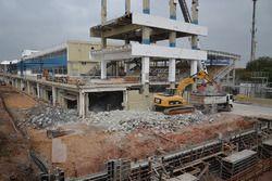 أعمال البناء في حلبة إنترلاغوس