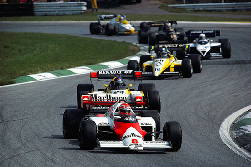 Niki Lauda McLaren MP4/1