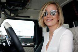 Susie Wolff, moglie di Toto Wolff, direttore Mercedes Motorsport