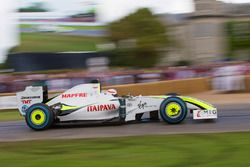 Brawn-Mercedes BGP 001- Martin Brundle