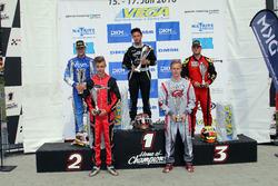 DSKC Rennen 1: 1. Enrico Prosperi; 2. Nico Jöcker; 3. Christoph Hold; 4. Maximilian Paul; 5. Patrick Kreutz