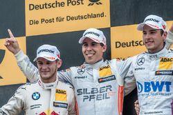 Podium: 2. Marco Wittmann, BMW Team RMG, BMW M4 DTM; 1. Robert Wickens, Mercedes-AMG Team HWA, Merce