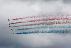 La démonstration des Red Arrows