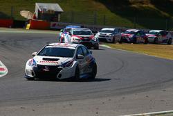 Partenza: Roberto Colciago, AGS, Honda Civic TCR 2015-TCR al comando