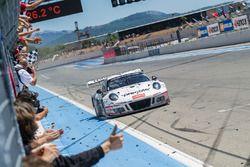 Yarış galibi #911 Precote Herberth Motorsport Porsche 991 GT3 R: Alfred Renauer, Robert Renauer, Dan
