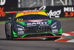 #222 Scott Taylor Motorsport Mercedes-AMG GT3: Craig Baird, Scott Taylor