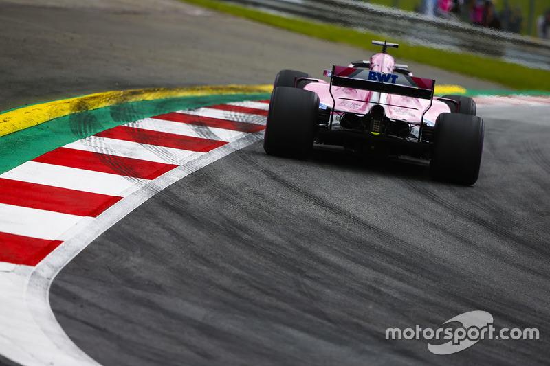 18. Sergio Perez, Force India VJM11