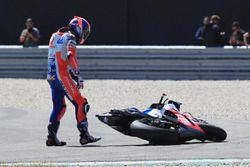Danilo Petrucci, Pramac Racing after the crash
