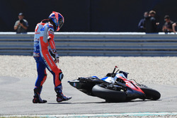 Danilo Petrucci, Pramac Racing after the crash