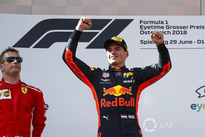 Vainqueur : Max Verstappen (Red Bull Racing)