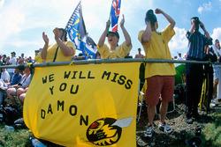 Fans von Damon Hill