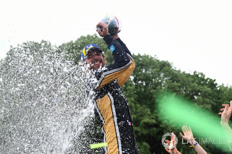 Jean-Eric Vergne, Techeetah, vincitore dell'ePrix di Parigi