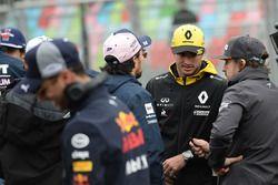 Carlos Sainz Jr., Renault Sport F1 Team Desfile de pilotos