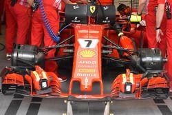 La Ferrari SF71H de Kimi Raikkonen