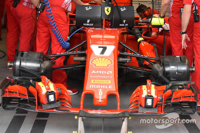 Ferrari SF71H de Kimi Raikkonen