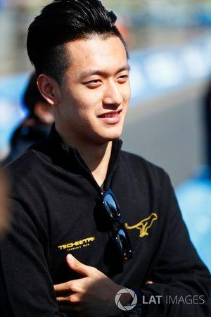 Guanyu Zhou, TECHEETAH, piloto de reserva