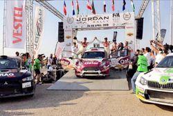 ناصر العطية الفائز برالي الأردن الدولي 2018