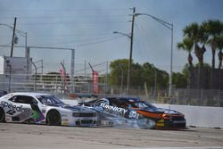 #92 TA2 Chevrolet Camaro, Shane Lewis of Napoleon Motorsports, #12 TA2 Dodge Challenger, Marc Miller of Stevens Miller Racing