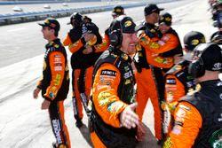 Martin Truex Jr., Furniture Row Racing, Toyota Camry Bass Pro Shops/5-hour ENERGY crew celebrates