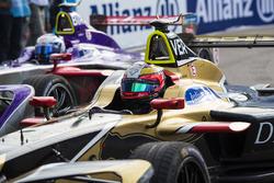 Jean-Eric Vergne, Techeetah, et Sam Bird, DS Virgin Racing