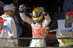 Winnaar Lewis Hamilton, McLaren