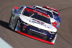 William Byron, JR Motorsports Chevrolet, Sam Hornish Jr., Team Penske Ford and Ty Majeski, Roush Fenway Racing Ford
