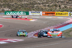 Lionel Ugalde, Ugalde Competicion Ford, Esteban Gini, Alifraco Sport Chevrolet, Gaston Mazzacane, Co