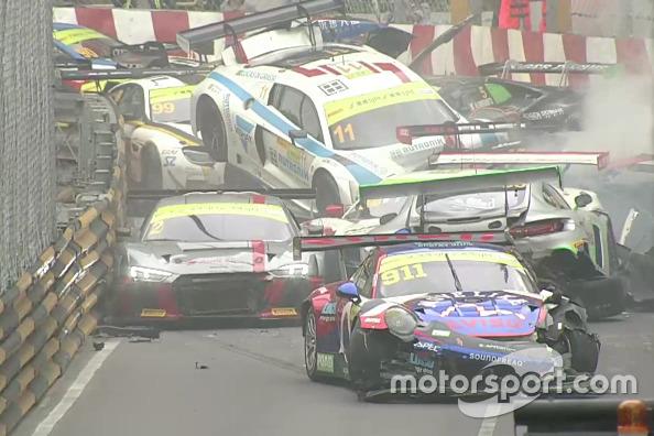 GT Noticias de última hora Juncadella explica el impresionante accidente múltiple de Macao