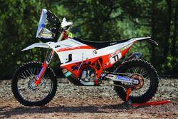 Bike of Luciano Benavides, KTM