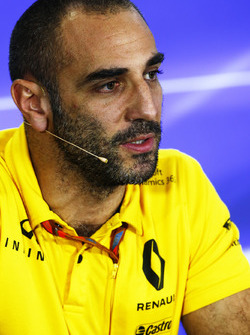 Cyril Abiteboul, Managing Director, Renault Sport F1 Team
