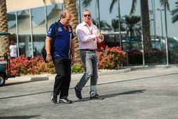 Robert Fearnley, Sahara Force India F1 en Martin Brundle, Sky TV