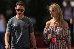 Stoffel Vandoorne, McLaren and Sonia Irvine