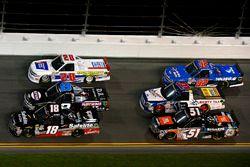 Noah Gragson, Kyle Busch Motorsports, Safelite Autoglass Toyota Tundra, John Hunter Nemechek, NEMCO