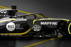 Renault F1 Team RS18 halo detail