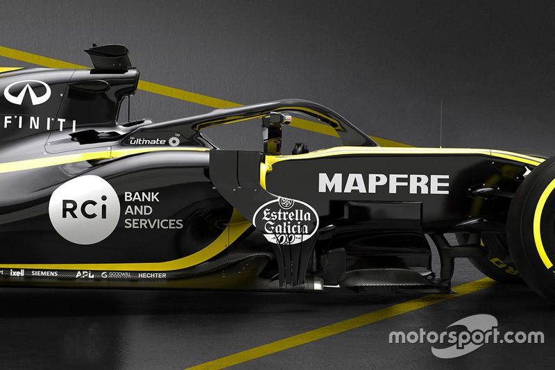 Halo del Renault F1 Team RS18