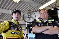 Ryan Blaney, Team Penske Ford Fusion and Jeremy Bullins