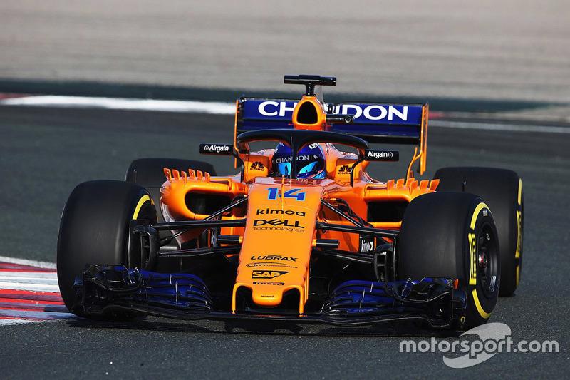 Fernando Alonso, McLaren MCL33 con motor Renault 2018