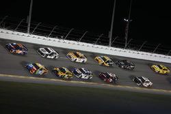 Denny Hamlin, Joe Gibbs Racing Toyota, Kyle Busch, Joe Gibbs Racing Toyota, Erik Jones, Joe Gibbs Ra
