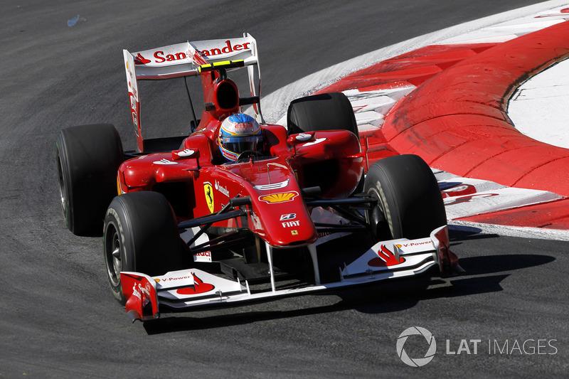 2010. Ferrari F10