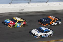 Kyle Busch, Joe Gibbs Racing Toyota Jeffrey Earnhardt, StarCom Racing Chevrolet Camaro Justin Marks,