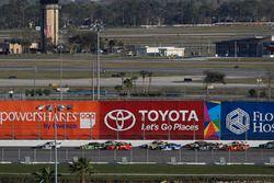 Daniel Suarez, Joe Gibbs Racing, Interstate Batteries Toyota Camry, Joey Logano, Team Penske, Fitzge