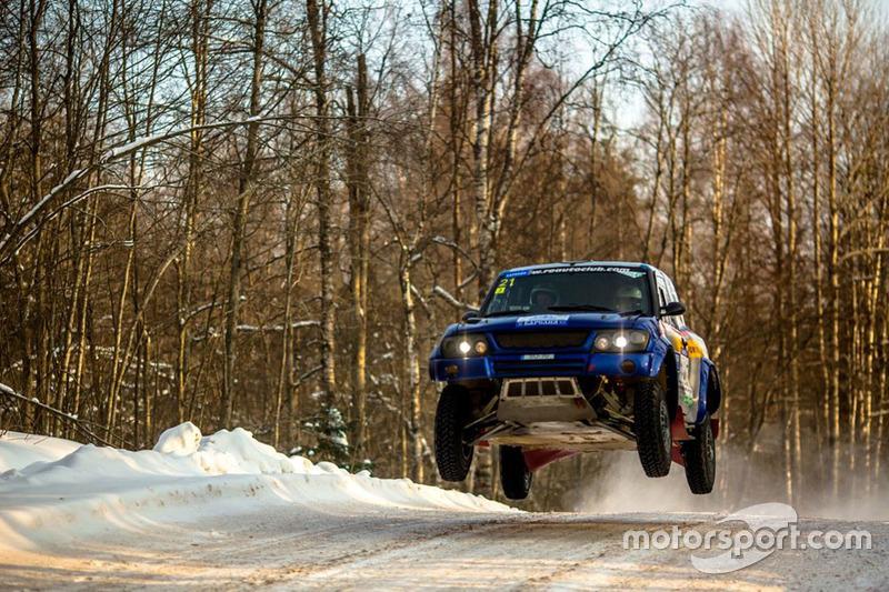Acción en la nieve