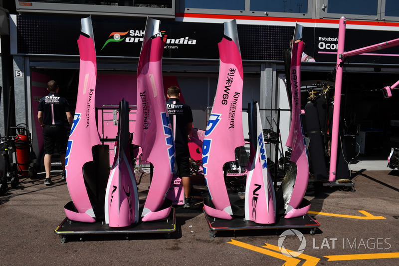 Force India VJM11 bodywork