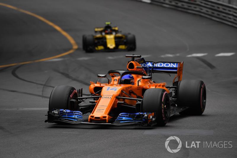 DNF Fernando Alonso, McLaren MCL33