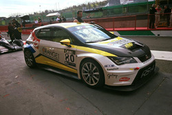 #80 SEAT León TCR, RS+A, Mariano Costamagna, Marco Costamagna, Roberto Olivo