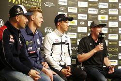 Себастьен Лёб, Team Peugeot Total, Йохан Кристофферссон, PSRX Volkswagen Sweden, Маттиас Экстрём, EK
