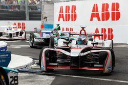 Maro Engel, Venturi Formula E Team, Nelson Piquet Jr., Jaguar Racing, Jose Maria Lopez, Dragon Racing