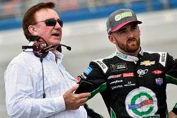 Austin Dillon, Richard Childress Racing Chevrolet and Richard Childress